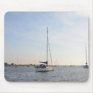 Yacht Grace Mousepads