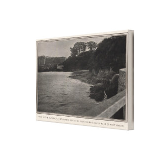 Yacht harbor, East of Ft Mason Canvas Print