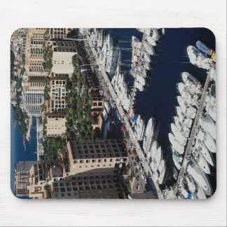 Yacht harbor, Monaco Mouse Pad
