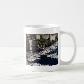 Yacht harbor, Monaco Coffee Mug