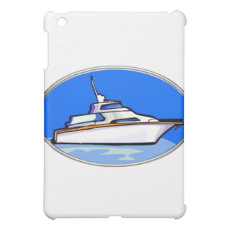 Yacht in Oval iPad Mini Covers