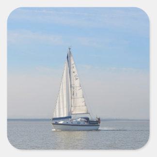 Yacht Janimari II Square Sticker
