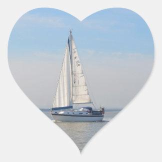 Yacht Janimari II Heart Sticker