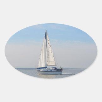 Yacht Janimari II Oval Sticker