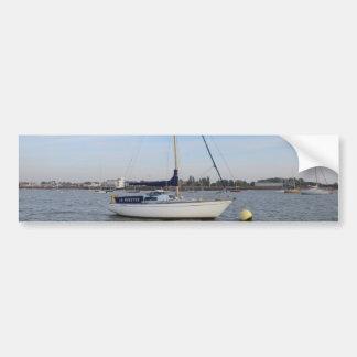 Yacht La Mouette Car Bumper Sticker