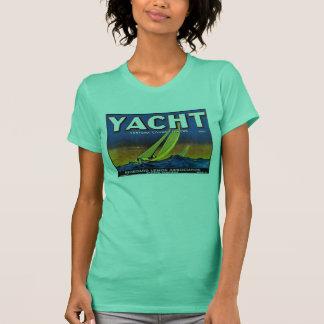 Yacht Lemons W's lime T-Shirt