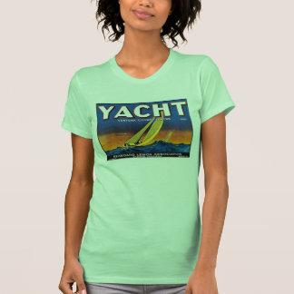 Yacht Lemons W's lime Tee Shirt
