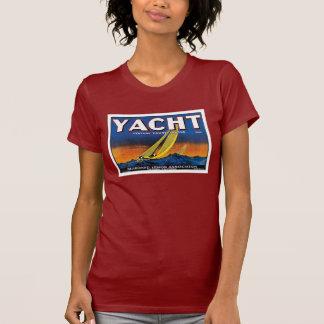 Yacht Lemons W's red Tees