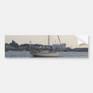 Yacht Mahala Car Bumper Sticker
