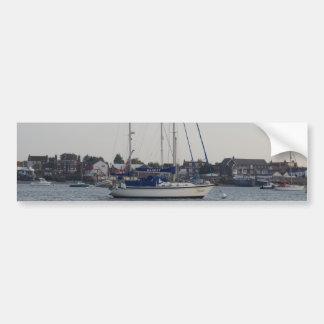 Yacht Mardet Car Bumper Sticker
