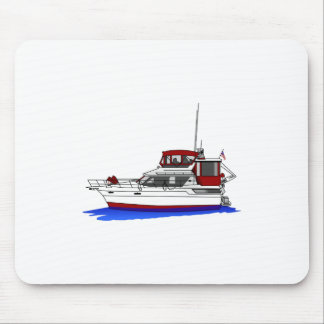 Yacht Mouse Pad