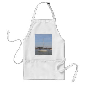 Yacht Mystery II Adult Apron