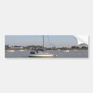 Yacht Mystery II Car Bumper Sticker
