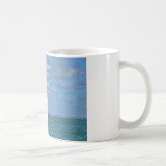 Yacht Near Eastbourne Coffee Mugs