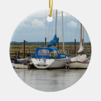 Yacht Nereides Ceramic Ornament