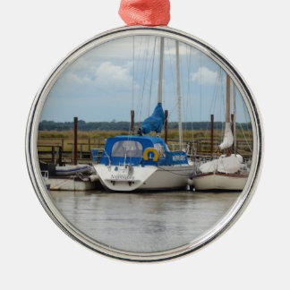 Yacht Nereides Metal Ornament