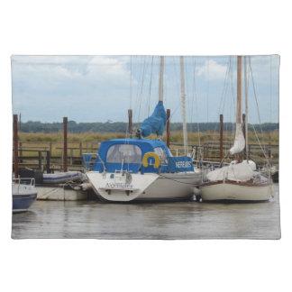 Yacht Nereides Cloth Place Mat