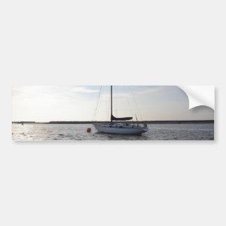 Yacht Orla Of London Car Bumper Sticker
