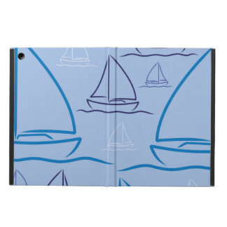 Yacht pattern iPad air covers
