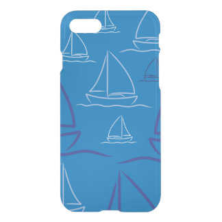 Yacht pattern iPhone 7 case