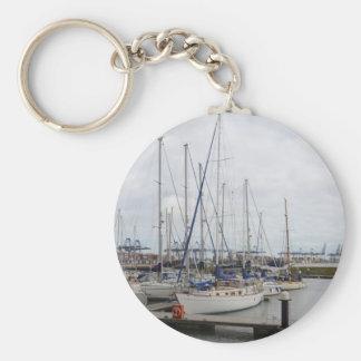 Yacht Phoenix Of Hamble Keychain