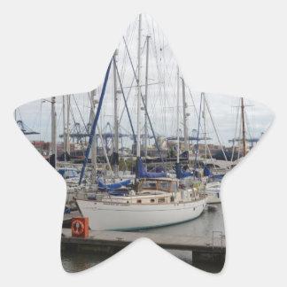 Yacht Phoenix Of Hamble Star Sticker