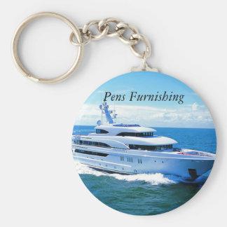 yacht_phoenix, Pens Furnishing Llavero Redondo Tipo Pin