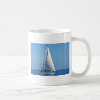 Yacht Prelude On The EMYR Coffee Mug