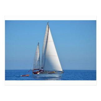 Yacht Prelude On The EMYR Postcard
