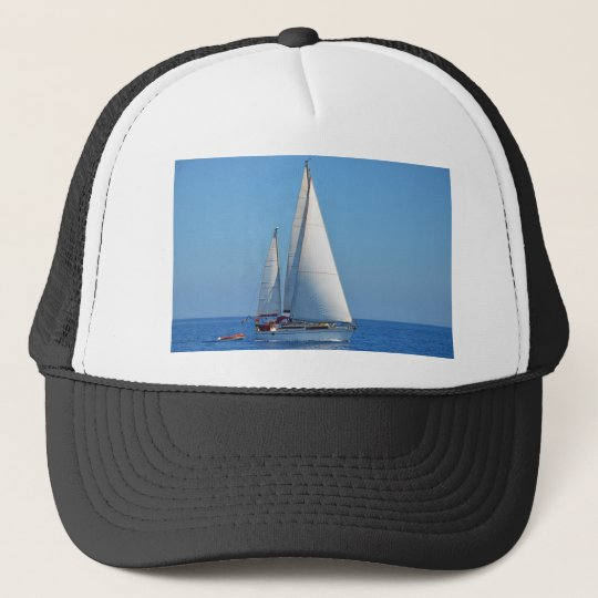 Yacht Prelude On The EMYR Trucker Hat