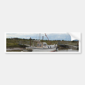 Yacht Quintas At Southwold Bumper Sticker