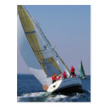 Yacht Racing In The Mar Menor Postcards