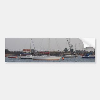 Yacht Reality Bumper Sticker