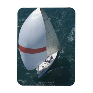 Yacht Rectangular Photo Magnet