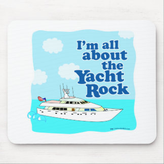 Yacht Rock Mouse Pad