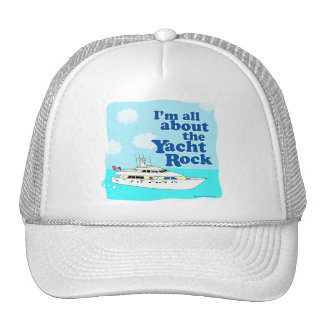 Yacht Rock Trucker Hat