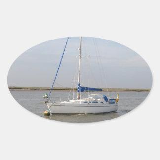 Yacht Rockhopper Oval Sticker