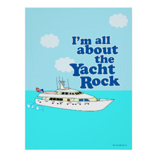 Yacht Rocking Poster