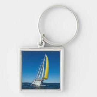 Yacht Sailing   South Australia Keychain