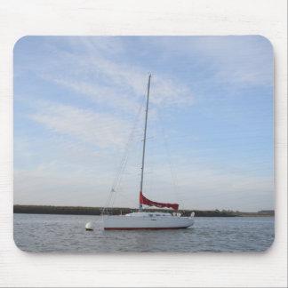 Yacht Scarlet Jester Mouse Pads