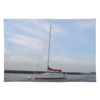 Yacht Scarlet Jester Placemat