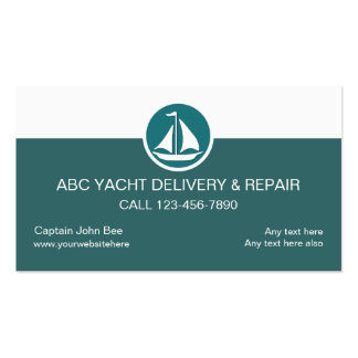 Yacht Service Business Cards