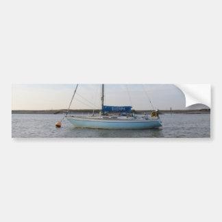 Yacht Sherpa Car Bumper Sticker