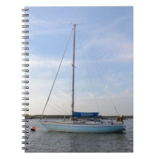Yacht Sherpa Spiral Notebooks
