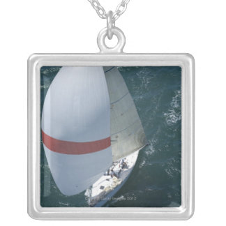 Yacht Silver Plated Necklace
