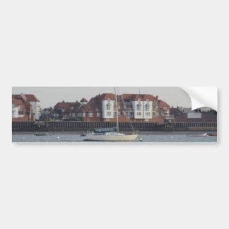 Yacht Stampede Car Bumper Sticker