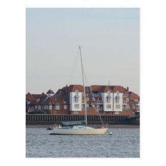 Yacht Stampede Postcard