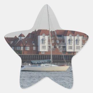 Yacht Stampede Star Sticker