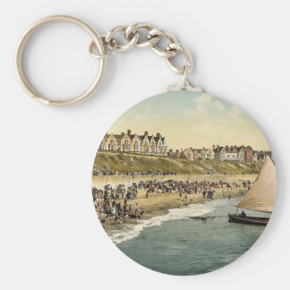 Yacht starting, Clacton-on-Sea, England classic Ph Key Chains