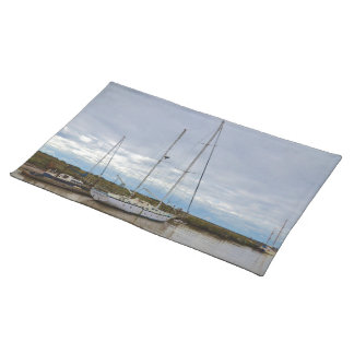 Yacht Suffolk Owl At Southwold Cloth Placemat